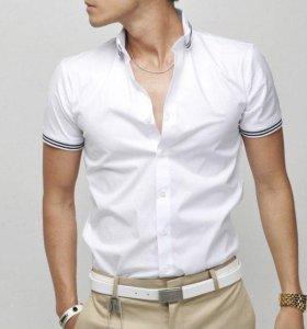 Новая рубашка с коротким рукавом