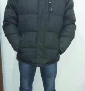 Мужская куртка зима как новая размер 52
