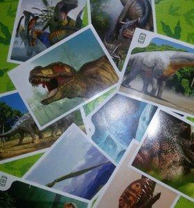 Наклейки и карточки Миньоны