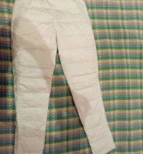 Новые зимние брюки на пуху