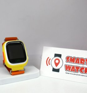 Детские Отслеживающие Часы Q90 Оранжевые