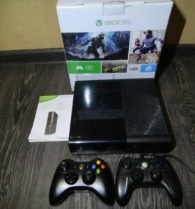 Игровая приставка Xbox 360 E (freeboot) + 60 игр