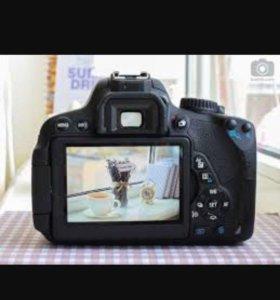 Зеркалка Canon 650d в отличном состоянии