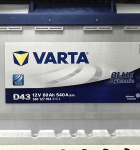 Аккумулятор VARTA 60ач