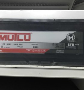 Аккумулятор MUTLU SFB 190ач