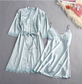 Халат и сорочка комплект