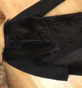 Пальто меховое Blancha