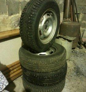 зимние шины на дисках комплект р 13 семейства л