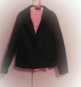 Пиджак для девочки р-р 44