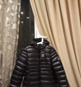 Куртка новая утепленная р.48