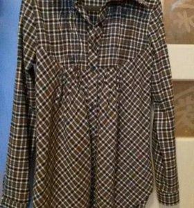 Рубашка -туника для беременных