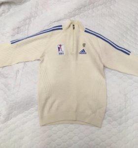 Шерстяной свитер adidas