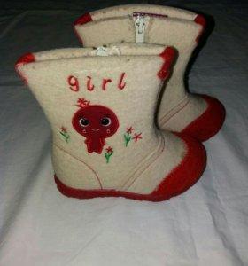 Валенки для девочки ТОМ.М