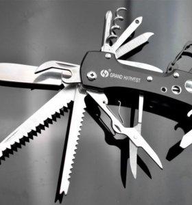 Универсальный складной нож 12 предметов