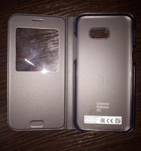 Кейс книжка для Samsung galaxy A5 2017 оригинал