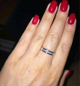 Кольцо серебро ,925
