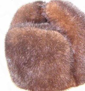Норковая шапка (ленинградка)