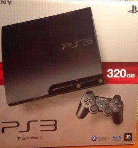 Playstation 3 slim с играми