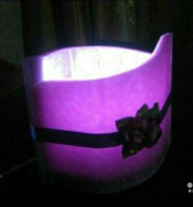 Лампа «Виноград» с ароматом винограда