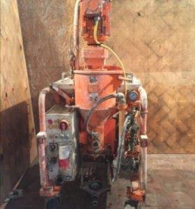 Механизированая штукакатурная станция