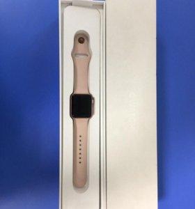 Розовый Aplle Watch Series