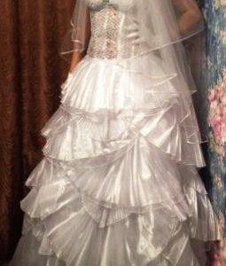 Очень Шикарное Свадебное Платье