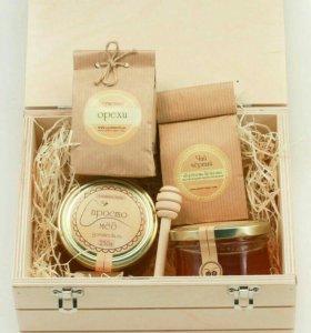 Новогодний подарок домашний мед