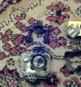 Экшен камера новая