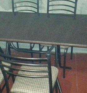Кухонный стол комплект 4 стула