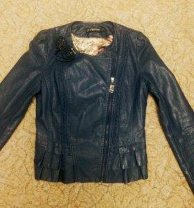 Пальто,кожаная куртка