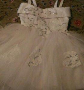 Детское платье новогоднее