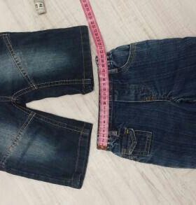 Шорты джинсовые на 1,5-2 года