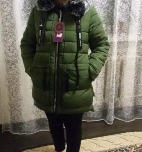 Новая куртка очень теплая!!