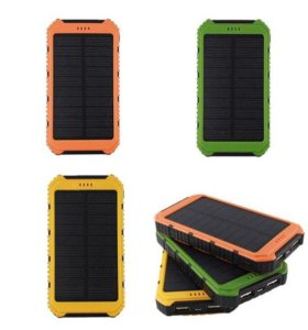 Внешний аккумулятор Solar Charger Power Bank