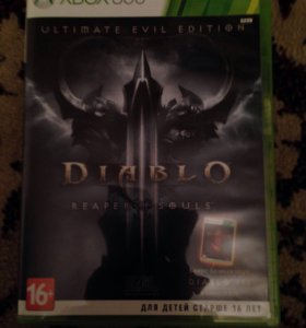 Игра на Xbox 360 DIablo