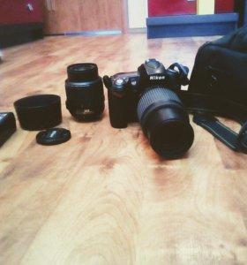 Nikon D90 HD.