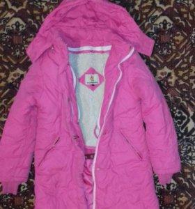 Зимняя куртка на 9-10лет