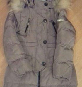 Пальто зимнее детское (128-134)