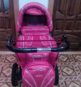Детская коляска зима-лето.В хорошем состоянии.