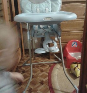 Складной детский стульчик для кормления