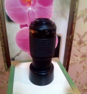 Большой объектив Nikon D90, HD