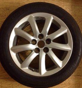Lexus LS новое колесо.