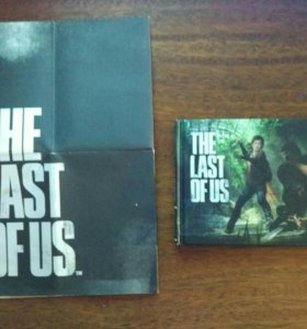 Артбук + Постер the last of us