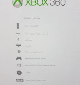 Xbox360 4GB + kinect