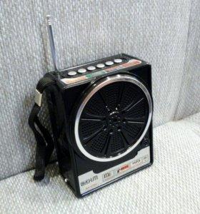 Радиоприемник с usb mp3 колонка.