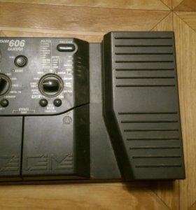 Гитарный процессор zoom 606