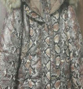 Куртка-пуховик на девочку