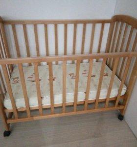 Кроватка детская + ПОДАРОК