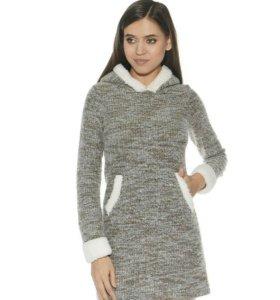 Платье теплое xs