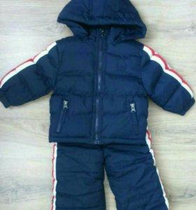 Комбинезон куртка на 3-9мес